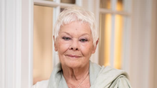 Dame Judi Dench at the 2018 Zurich Film Festival.
