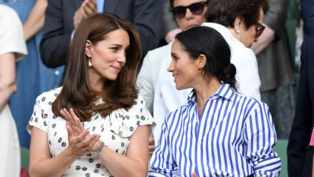 Duchess Catherine and Duchess Meghan at Wimbledon, Kensington Palace denies feud between Kate and Meghan