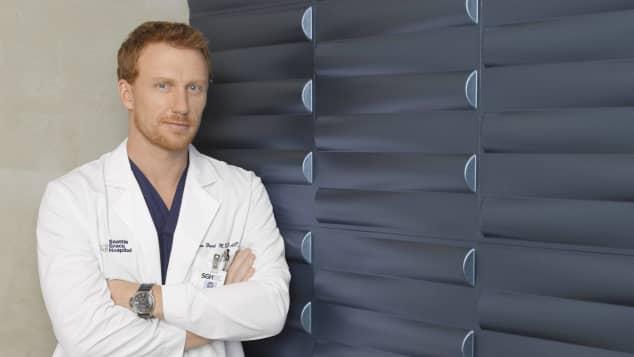 Kevin McKidd in 'Grey's Anatomy'.
