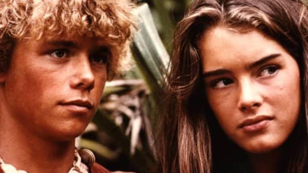 Brooke Shields y Christopher Atkins en 'La laguna azul'