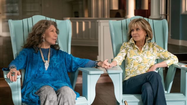 Lily Tomlin and Jane Fonda in 'Grace and Frankie'