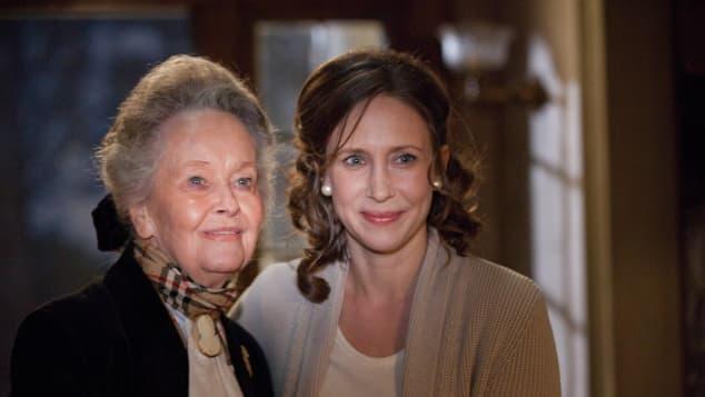 Lorraine Warren and Vera Farmiga