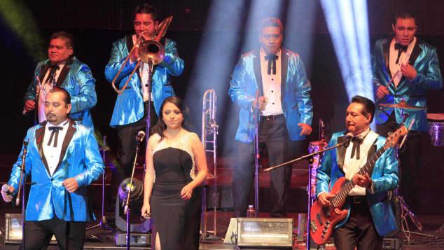 Los Ángeles Azules en concierto en 2016