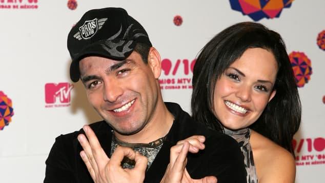 Omar Chaparro y Lucía Ruiz