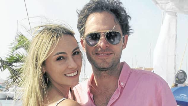Valeria Santos y Manolo Cardona