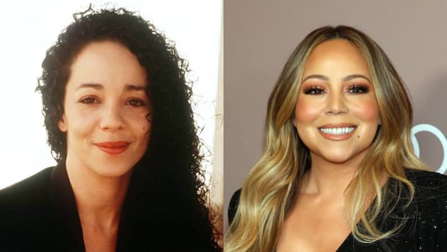 Alison Carey and Mariah Carey