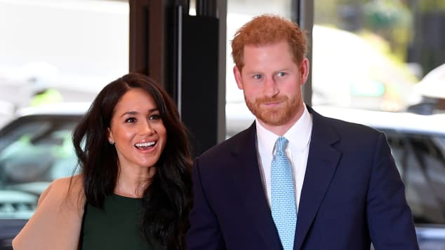 Duchess Meghan and Prince Harry