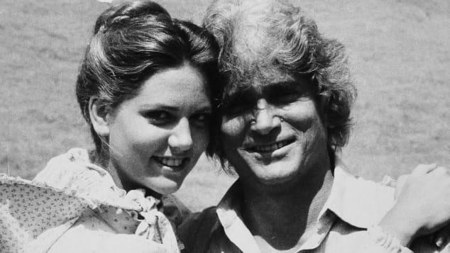 Leslie Landon and Michael Landon