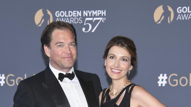 Michael Weatherly and Bojana Jankovic
