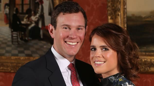 Jack Brooksbank y la princesa Eugenia