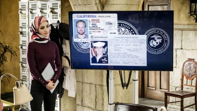 """Medalion Rahimi stars on NCIS: L.A. as """"Fatima Namazi""""."""