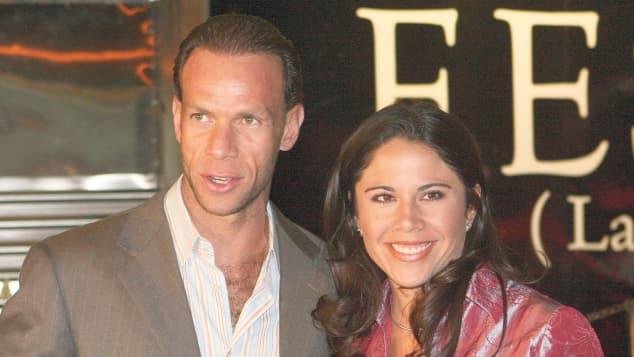 Paola Rojas y Luis Roberto Alves Zague