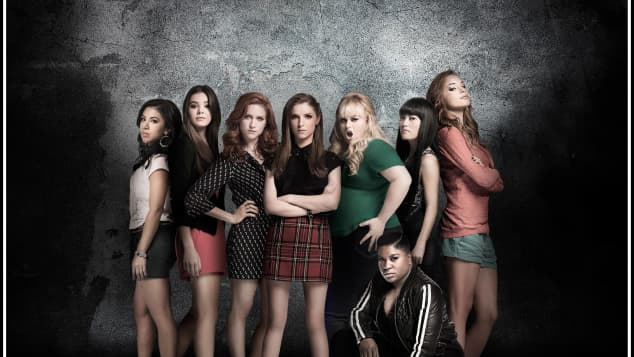The Cast of 'Pitch Perfect'.
