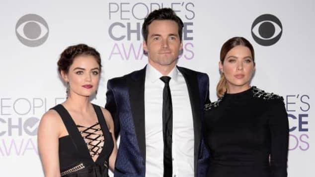 Lucy Hale, Ian Harding, Ashley Benson de 'Pretty Little Liars'