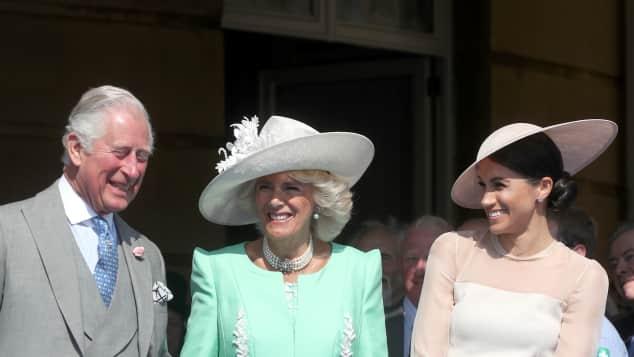 Príncipe Carlos, Duquesa Camilla y Duquesa Meghan
