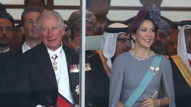 Prince Charles and Princess Mary of Denmark