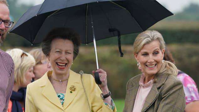Princess Anne and Sophie, Countess of Wessex