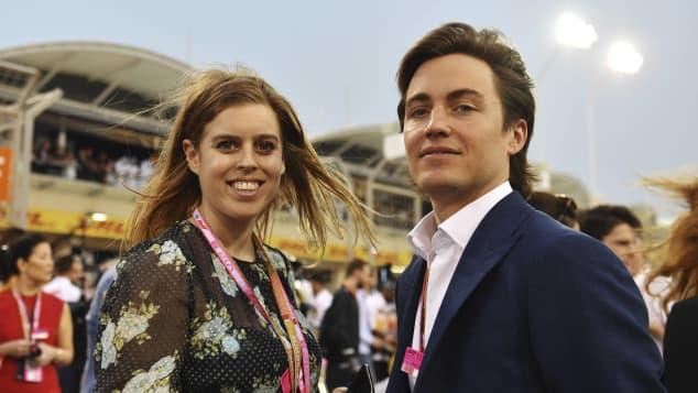 La princesa Beatriz y Edoardo Mapelli Mozzi