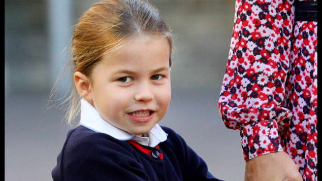 Princess Charlotte is fourth in line for the throne