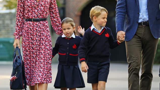 Princess Charlotte and Prince George Thomas's Battersea
