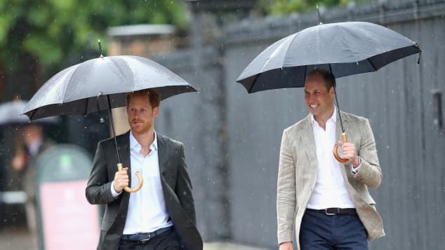 Príncipe Harry y el príncipe William