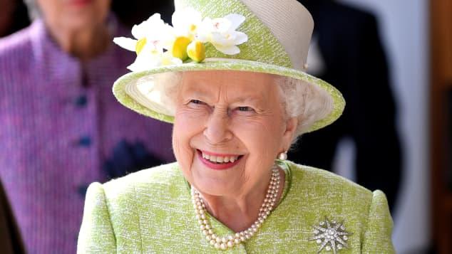 Queen Elizabeth II visiting Somerset