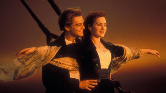 Leonardo DiCaprio y Kate Winslet en una escena de 'Titanic'