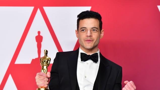 Rami Malek at the 2019 Oscars