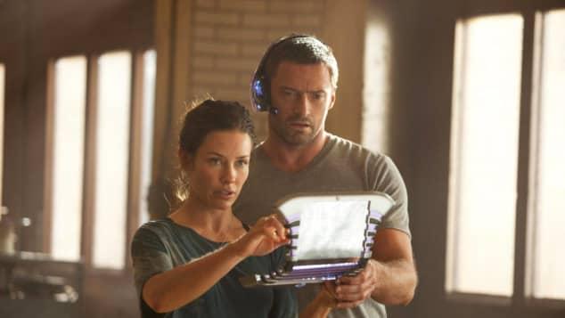 Hugh Jackman y Evangeline Lilly