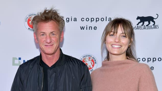 Sean Penn se casa en secreto con Leila George, 31 años menor que él