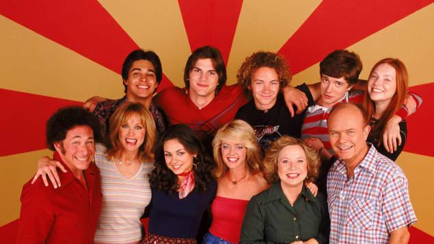 Elenco de la serie 'That 70's Show'