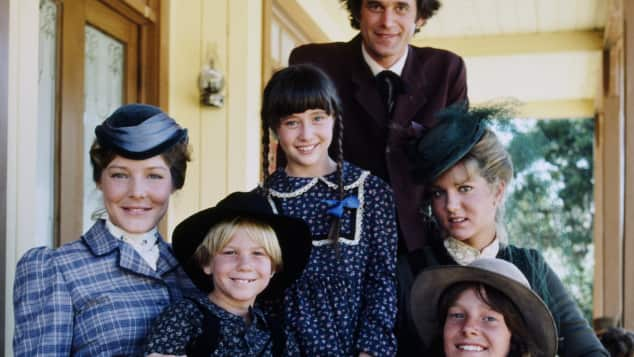 Shannen Doherty in Little House on the Prairie.