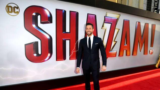 Zachary Levi at the 'Shazam!' Premiere