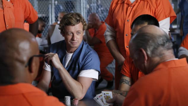Simon Baker en 'The Mentalist'