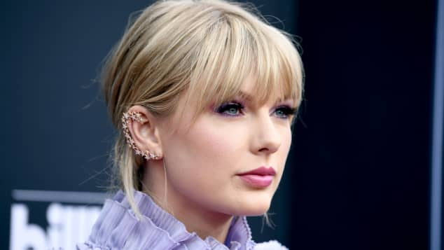 Taylor Swift at the 2019 Billboard Music Awards