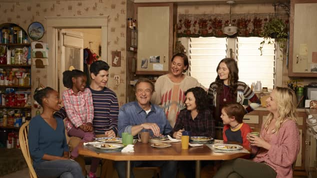 """The cast of """"The Conners"""""""