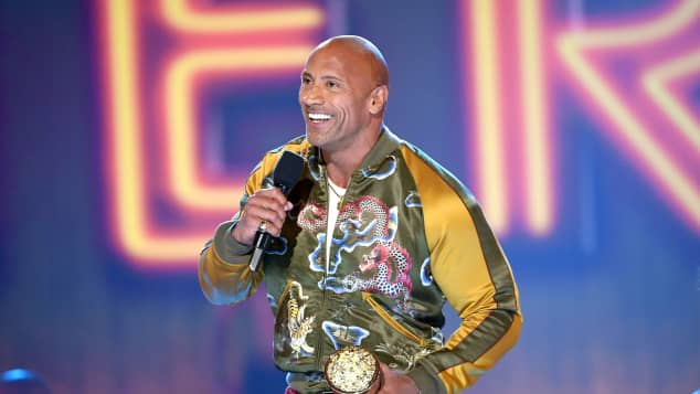 Dwayne 'The Rock' Johnson at the 2019 MTV Movie & TV Awards