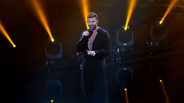 Through The Years With Ricky Martin