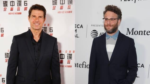 Tom Cruise and Seth Rogen