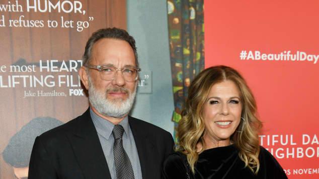 Tom Hank and Rita Wilson