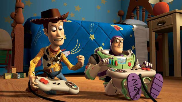 'Toy Story': Woody y Buzz