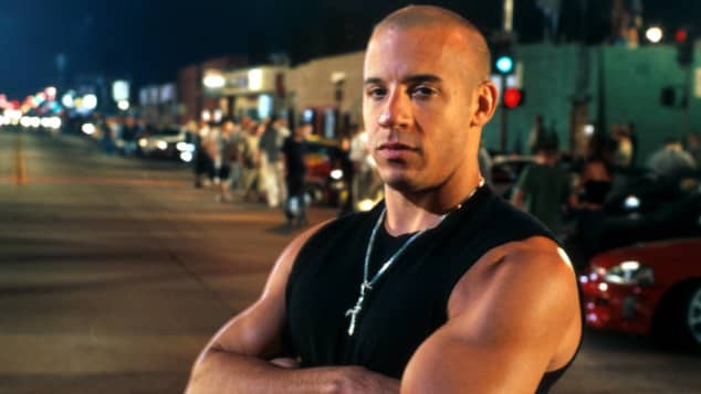 Vin Diesel in 'The Fast and the Furious'