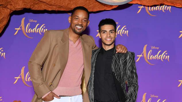 "Will Smith gives advice to ""Aladdin"" Mena Massoud"
