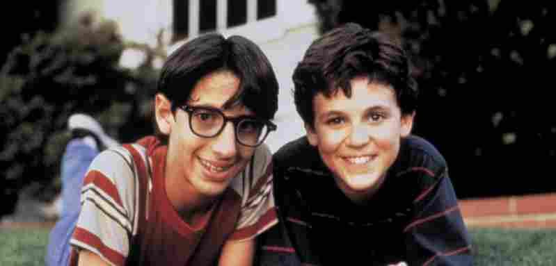 Josh Saviano y Fred Savage