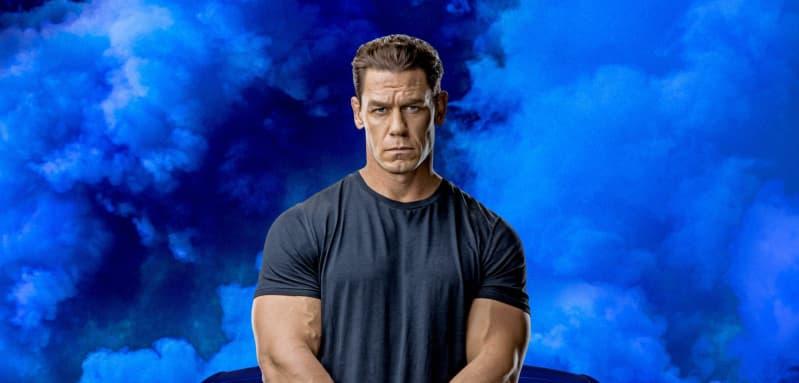 John Cena en una imagen promocional de la película 'Rápidos y furiosos 9'