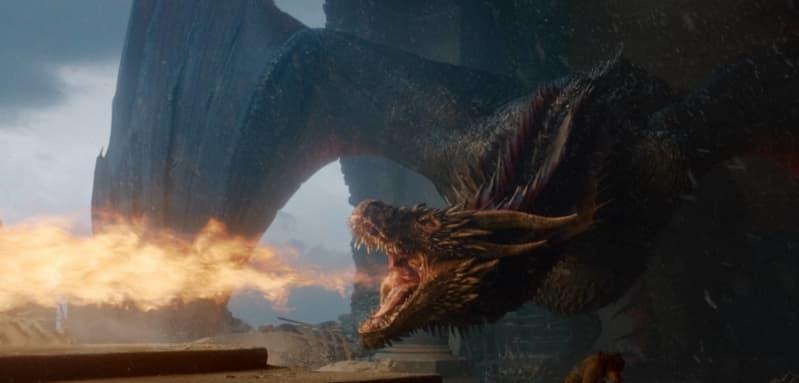 Escena de la serie 'Game of Thrones'