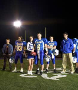 The Cast of 'Friday Night Lights'.