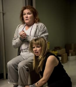 Kate Mulgrew and Natasha Lyonne in 'Orange Is The New Black'.