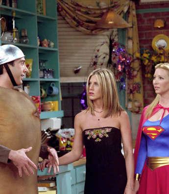 Episodio de Halloween de Friends