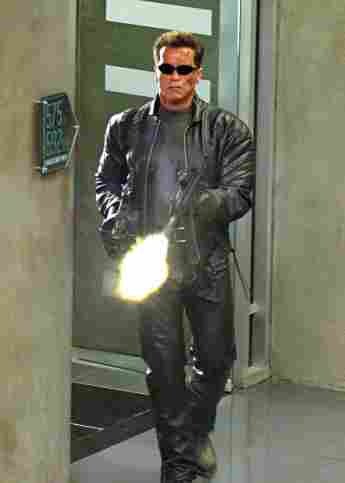 """Arnold Schwarzenegger in """"The Terminator"""""""
